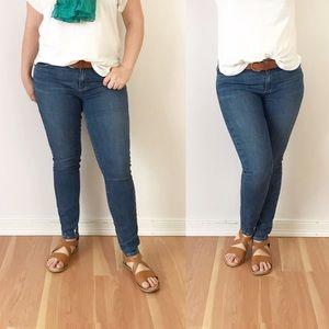 Paige Verdugo Ankle Skinny Jeans Denim 30 G656